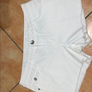 COPY - Justice white shorts